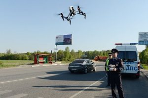 Law enforcement using drones to monitor traffic for stolen vehicles